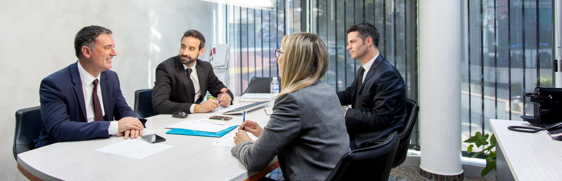 Reunión de directivos FusterGuell